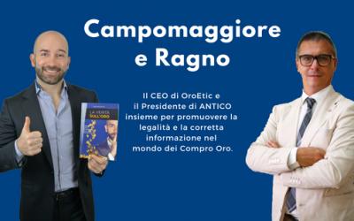 """""""Nozze d'oro"""" tra David Campomaggiore e l'associazione ANTICO"""